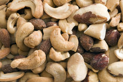 Mixed Nut Background Royalty Free Stock Image