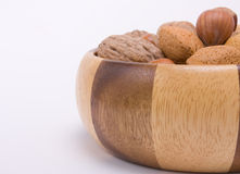 Mixed Nuts Stock Photography