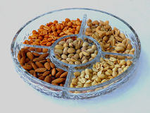 Mixed Nuts. A variety of nuts Royalty Free Stock Photo