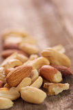 Mixed nuts. Royalty Free Stock Photo