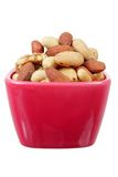Mixed Nuts in Bowl Stock Photos