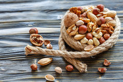 Mixed nuts. Royalty Free Stock Images