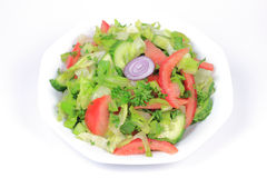 Mixed Organic Green Salad. Stock Images