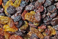Mixed Organic Raisins Royalty Free Stock Photos