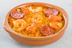 Mixed Paella Royalty Free Stock Images