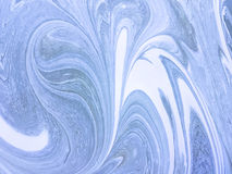 Mixed paint background white and light blue color. Abstract backdrop with curls stock photos