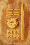 Mixed pasta Royalty Free Stock Image