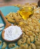 Mixed pasta Stock Photos