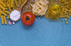 Mixed pasta Stock Images