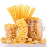 Mixed pasta Royalty Free Stock Photography