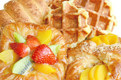 Mixed pastry. Stock Image
