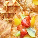 Mixed pastry. Stock Photos