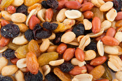 Mixed peanuts Royalty Free Stock Images