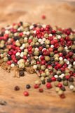 Mixed peppercorns Stock Images