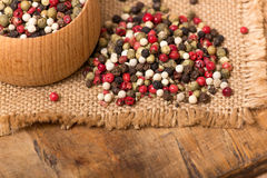 Mixed peppercorns Royalty Free Stock Image