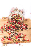 Mixed peppercorns Royalty Free Stock Images