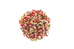 Mixed peppercorns Stock Photo