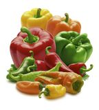 Mixed Peppers Royalty Free Stock Photo
