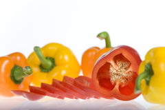 Mixed Peppers Stock Photos