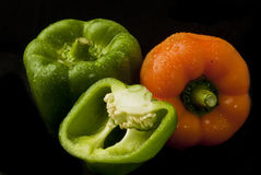 Mixed peppers Royalty Free Stock Image