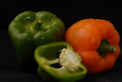 Mixed peppers Royalty Free Stock Images