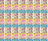 Mixed peso Bills Background Royalty Free Stock Photography