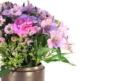 Mixed pink flowers Royalty Free Stock Photography