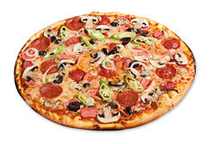 Mixed Pizza Royalty Free Stock Photos