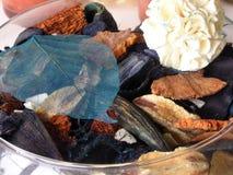 Mixed potpourri. Colorful assortment of porpourri Stock Photo
