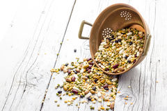 Mixed pulses Stock Images