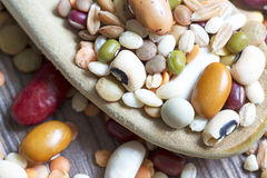 Mixed pulses Royalty Free Stock Image