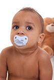 Mixed race baby Stock Image