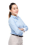 Mixed race business woman Royalty Free Stock Photography