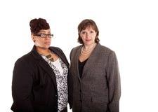 Mixed Race Business Women Stock Photo