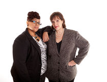 Mixed Race Business Women Stock Images