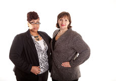 Mixed Race Business Women Royalty Free Stock Images
