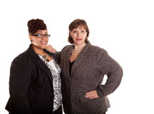 Mixed Race Business Women Royalty Free Stock Photo