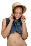 Mixed race girl Royalty Free Stock Photo