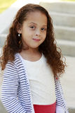 Mixed race girl royalty free stock photography