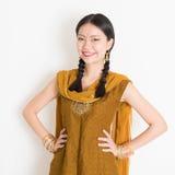Mixed race Indian girl Royalty Free Stock Photos