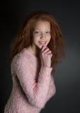 Mixed Race Pre Teen Royalty Free Stock Photo