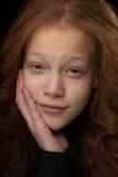 Mixed Race Pre Teen Stock Photo