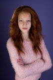 Mixed Race Pre Teen Royalty Free Stock Image