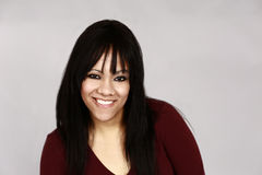 Mixed race woman royalty free stock photography