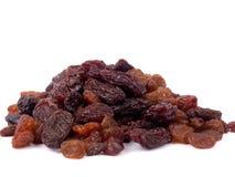 Mixed raisins Stock Photography
