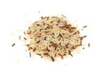 Free Mixed Rice Isolated On White Stock Image - 88688521