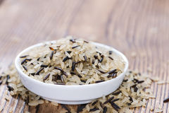 Mixed Rice (with Wild Rice) Royalty Free Stock Image