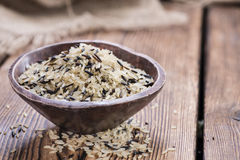 Mixed Rice (with Wild Rice) Stock Photos