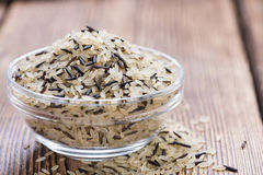 Mixed Rice (with Wild Rice) Stock Images