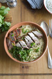 Mixed Roast Meats With Noodles Stock Images